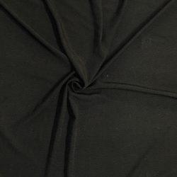 plumetis noir viscose