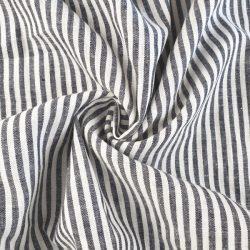 fine rayure gris-blanc
